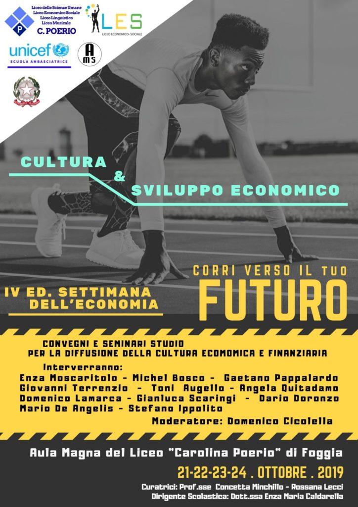 Locandina Settimana dellEconomia 2019