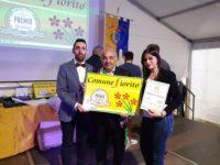 Il premio consegnato al sindaco Tommaso Lecce
