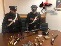 Foto armi arresto Minelli Di Gioia