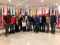 La delegazione di Migliorarsi a piccoli passi con leuroparlamentare Mario Furore a Bruxelles 2