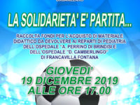 Locandina Partita Solidale