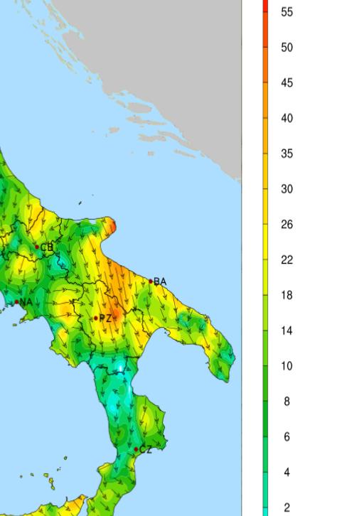 Gargano E Nord Barese Le Zone Piu Battute Dal Vento Nella Notte Noi Notizie