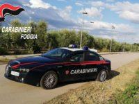 Carabinieri Cerignola autoradio