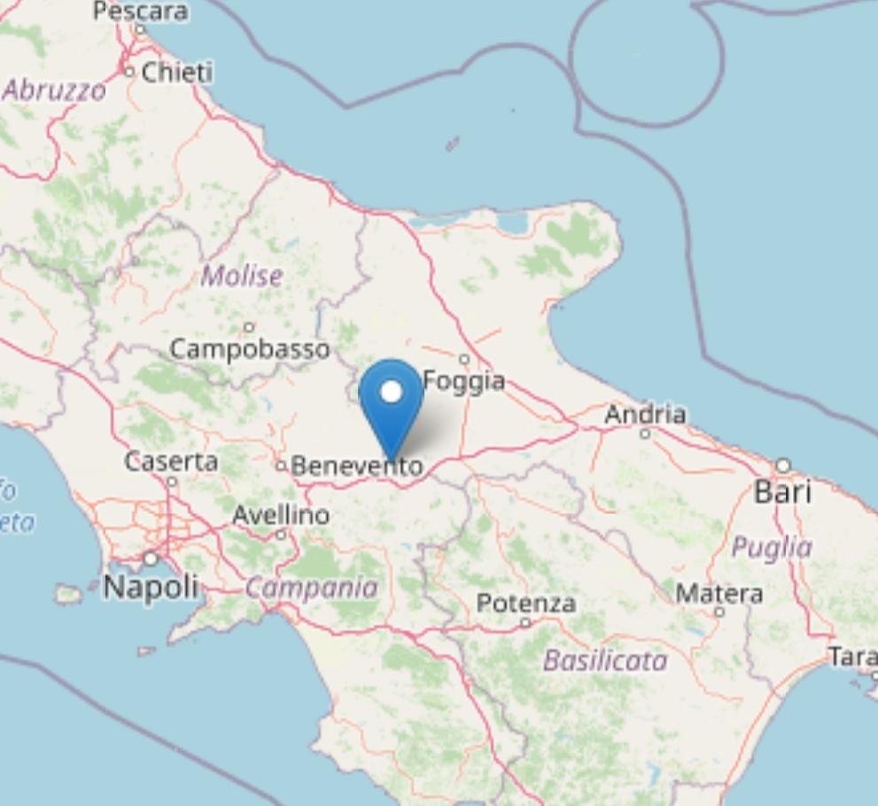 Terremoto: scossa di magnitudo 2,8 a Monteleone di Puglia Il sisma di lieve entità è stato registrato a tarda sera