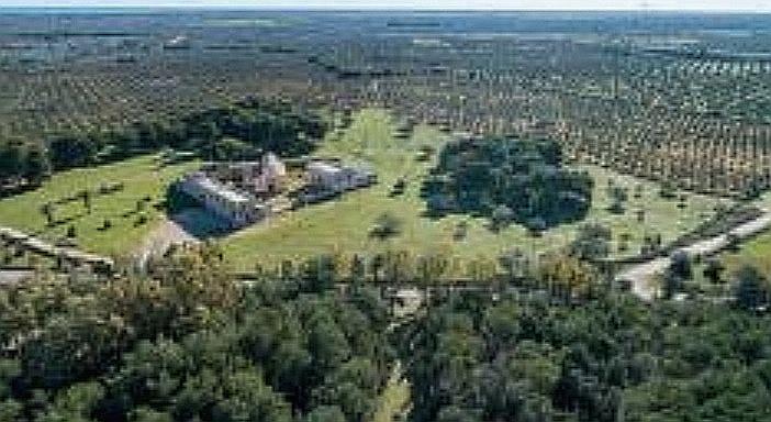 Lecce: festa dei circondari oggi e domani, Abbazia di Santa Maria di Cerrate Fondo ambiente italiano