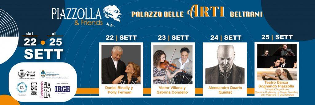 Loc. Orizz. Piazzolla Friends 22 25 settembre 2021