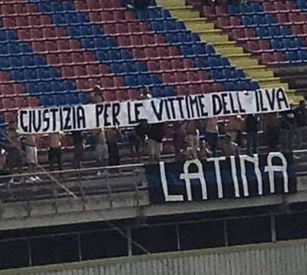 Taranto tifosi